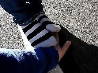 Tr@mpling Sweaty Socks