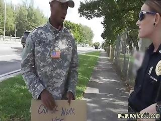 Milf Police Fake Soldier Gets Used As A Fuck Toy