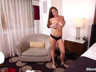 Fresh New Milf Tits Brunette Mom Does Anal And Strokes Out Hot Cum