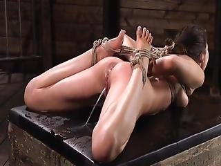 Squirting And Bondage, Asian Babe