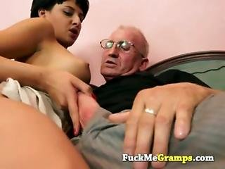 the old man can teach her