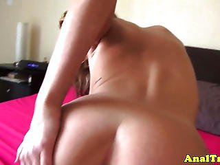 Anal Loving Amateur Filming Herself Fuck