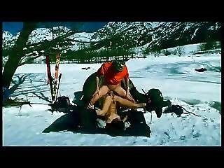 Hot Anal In Cold Snow
