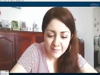 Mayra Mexicana Desnudita En Skype