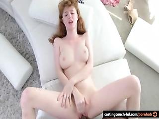 Renaissance Girl Enjoys A Black Dick At Casting