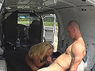 Keely Jones Bondaged And Gets Her Pussy Destroyed By Truck Driver