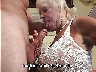 Old Lady Does Her Neighbor