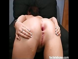 Must See Super Whore Chloe Totally Destroyed And Dp D At Face Fucking