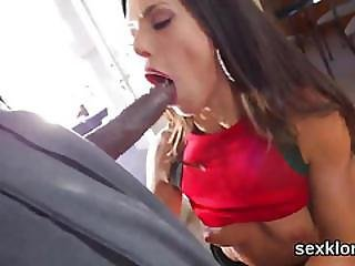 Pornstar Centerfold Gets Her Butt Hole Shagged With Long Cock