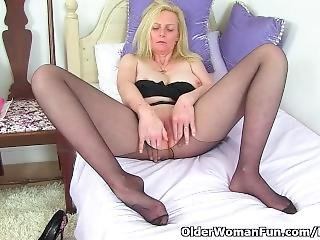 British, Blonde And Big Tits. What More Can You Wish For?