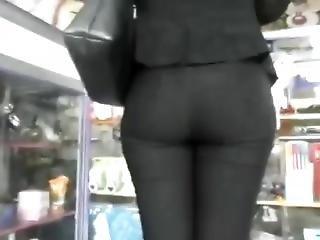 Candid Ass Of My Teacher