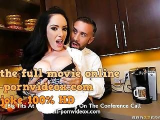 Big Tits At Work - Cumming On The Conference Call