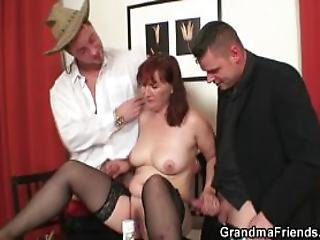 Blowjob, Czech, Dick, Double Penetration, Grandma, Granny, Mature, Mom, Mother, Old, Oral, Penetration, Poker, Pussy, Russian, Sex, Threesome