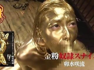 Gold Paint Trailer