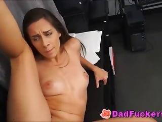 Latino Daughter Cassidy Klein Fucks Stunned Stepdad