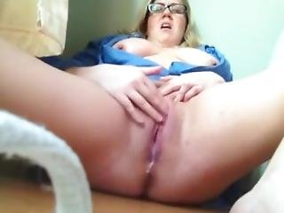 Lonely Girl Bates, Cums And Squirts For Me On Camera