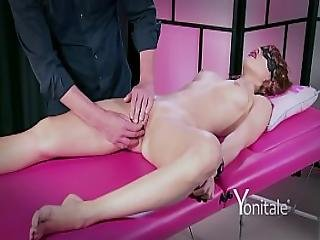 Yonitale Mystery Girl Has Massage And Real Orgasms. P 1