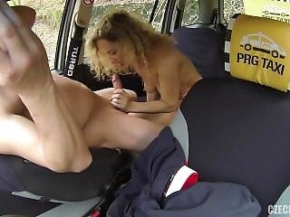 Amateur, Blonde, Czech, Taxi, Teen