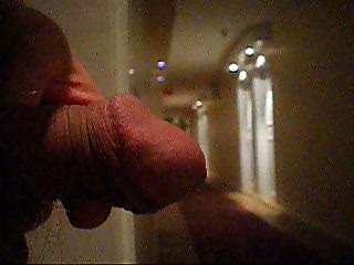 Pissing Around Indoors With Foreskin Teen Dick