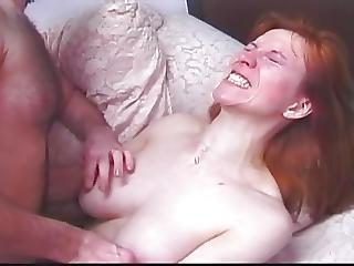 anal, orgasme, rødhåret