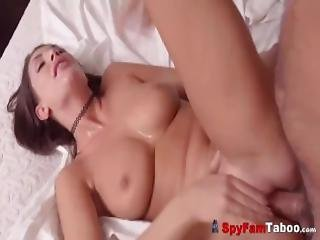 Big Boobs Hot Stepsis August Fucked Creampied By Stepbro
