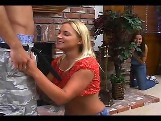 Girlfriend Surprise His Boyfriend With Blowjob