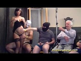 Pregnant Teens First Real Gangbang