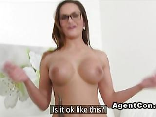 Fake Big Tits Babe Takes Cock In Casting