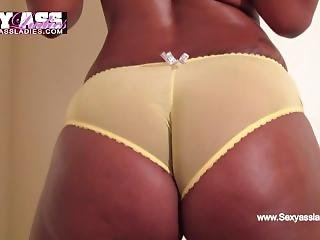 Phat Booty Ebony With Sexy Ass