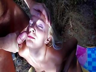 Hot Blonde Babe Fucked Hard On A Tropical Beach