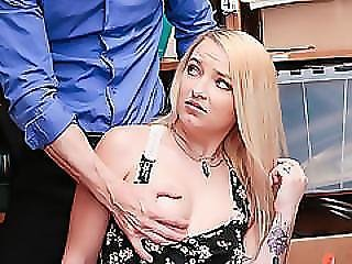 Carmen Callaway Slammed By The Cops Dick