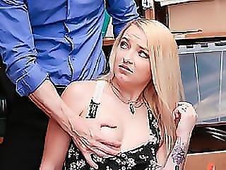 Carmen Callaway Slammed By The Cops Dick
