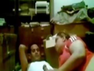 Egyptian Mother With Her Lover On Hidden Camera