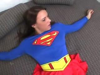 Guy Fucks Sleeping Superhero