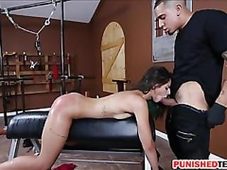 Tight Teen Babe Gina Valentina Dominated And Devastated