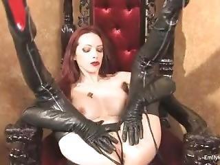 Emily Marylin Boots Masturbate 2
