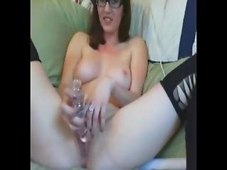 Nerdy Girl Playing With Herself - Add Her Snapcht: Rubysuce