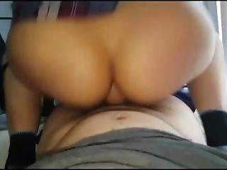 Girlfriend Rides Me Reverse Cowgirl Slow Motion