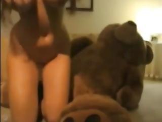 ερασιτεχνικό, κώλος, μωρό, αρκούδα, μεγάλος κώλος, μεγάλο βυζί, Teasing, παιχνίδια, Webcam