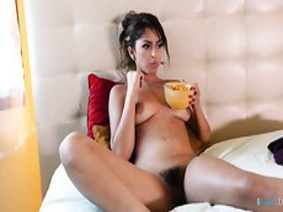 Sophia Leone Gets Her Hairy Latin Muff Fucked