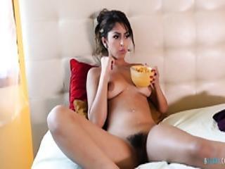 babe, kneppe, behåret, hardcore, latina, muff, pornostjerne
