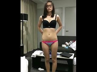 Petite Asian Teen Fucked And Swallows In Her First Porn Ever Bf Doesnt Know