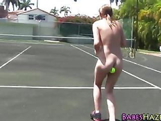 Teens Hazed Nude Outdoors