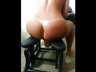 Sexy Milf Rides Dildo