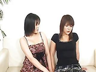Ami Hojo In Passionate Scenes Of Raw Japanese Lezzie Xxx