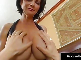 Mature Milf Deauxma Has Boy Toy Over For Deep Ass Fucking