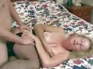 Married slut wife takes anal and creampie