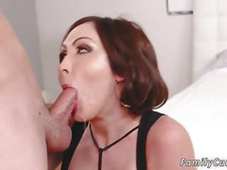Milf Dp First Time Auntie To The Rescue