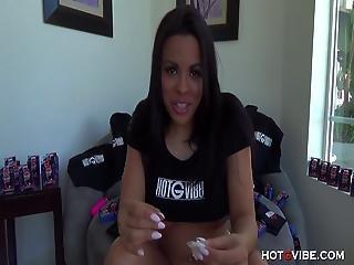 Cuban Cutie On Webcam