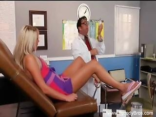 Blonde Fucks The Wrong Doctor